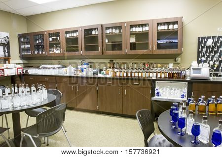 Sensory Lab In Wild Turkey Bourbon Distillery