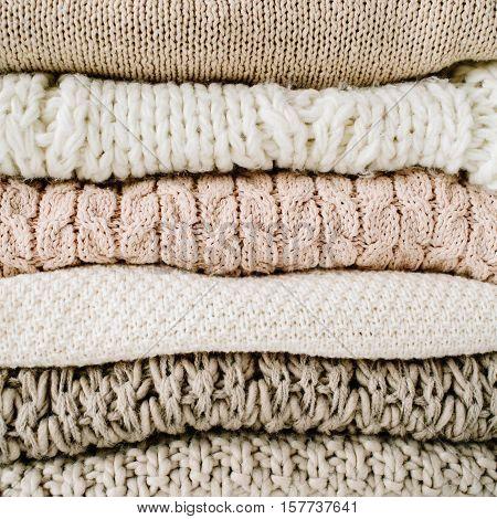 beauty warm feminine pullover or sweater arrangement