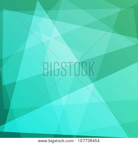 Abstract green background for design, stock vector