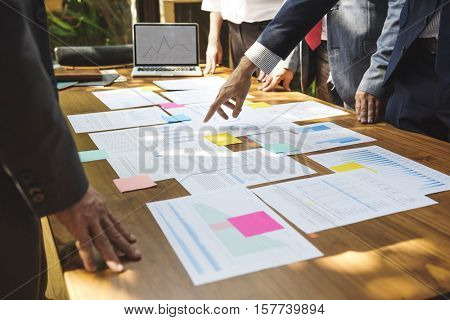 Business Corporate People Working Concept
