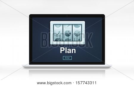 Strategy Marketing Business Planning Concept