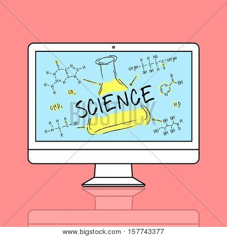 Science Experiment Laboratory Formula Chemical Concept
