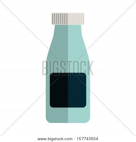 remedy big bottle with tap and label vector illustration