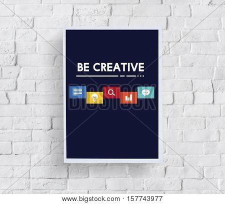 Creative Ideas Icon Boxes Concept