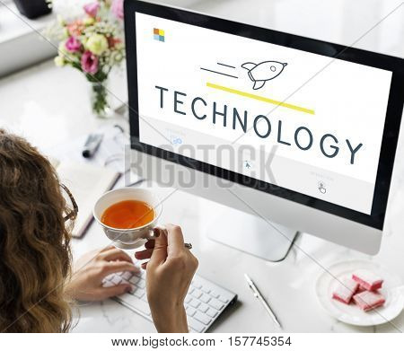 Web Design Internet Technology Concept