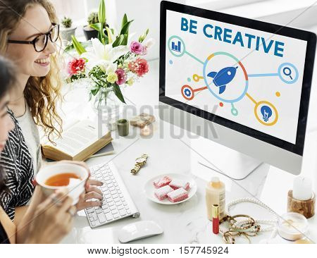 Ideas Fresh Brainstorming Creative Strategy Concept