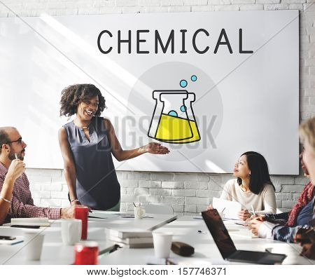Chemical Education Experiment Formula Concept
