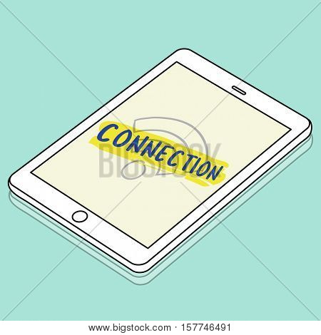 Smart phone Connection Concept