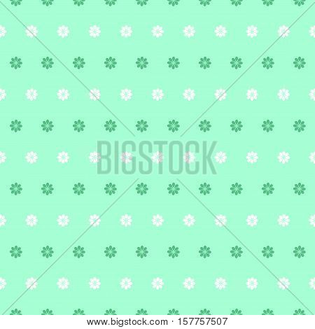 Delicate floral background. Elegant small flowers. Vector