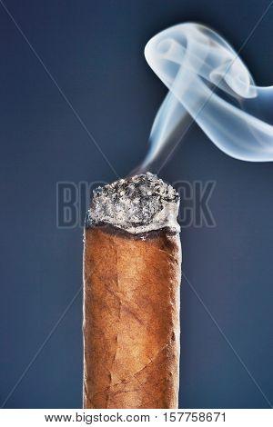 Burning Cigar