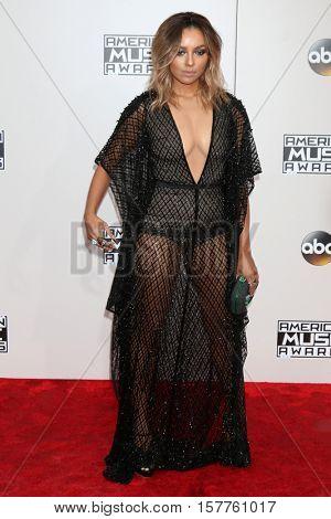 LOS ANGELES - NOV 20:  Kat Graham at the 2016 American Music Awards at Microsoft Theater on November 20, 2016 in Los Angeles, CA