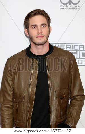 LOS ANGELES - NOV 20:  Blake Jenner at the 2016 American Music Awards at Microsoft Theater on November 20, 2016 in Los Angeles, CA
