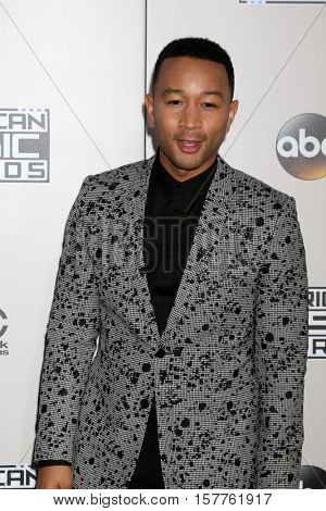 LOS ANGELES - NOV 20:  John Legend at the 2016 American Music Awards at Microsoft Theater on November 20, 2016 in Los Angeles, CA