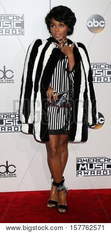 LOS ANGELES - NOV 20:  Janelle Monae at the 2016 American Music Awards at Microsoft Theater on November 20, 2016 in Los Angeles, CA
