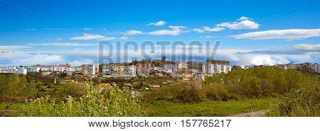 Bejar village in Salamanca of Spain by the Via de la Plata way