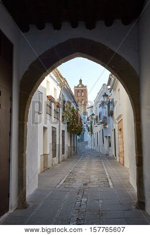 Zafra Arco de Jerez Puerta Arch in Extremadura of Spain by via de la Plata