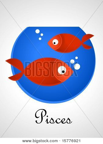 Zodiac signs / icons - pisces
