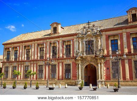 Seville Palacio Arzobispal of Sevilla Andalusia Spain