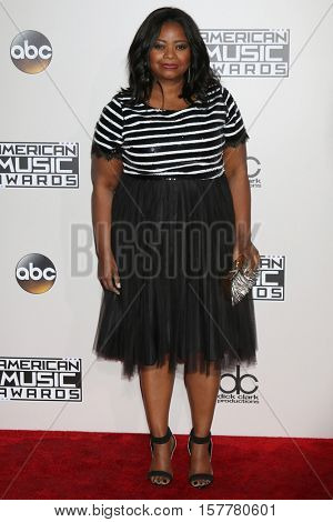 LOS ANGELES - NOV 20:  Octavia Spencer at the 2016 American Music Awards at Microsoft Theater on November 20, 2016 in Los Angeles, CA