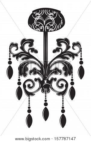 Baroque Elegant Lamp Vintage