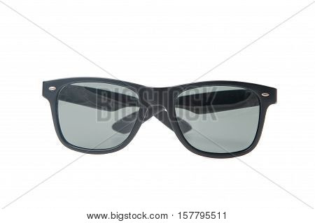 Fashion sun glasses isolated over the white background
