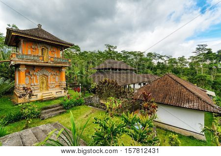 Traditional Balinese Architecture. The Pura Besakih Temple