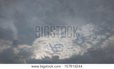 sky clouds sun light god's fingers sunrise