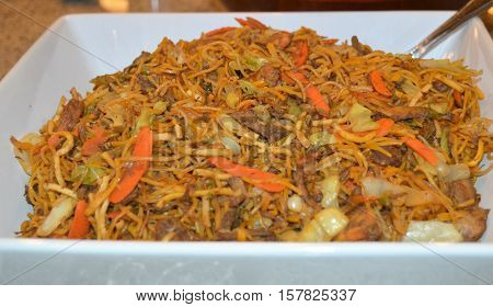 pancit pansit noodles Filipino traditional food cuisine