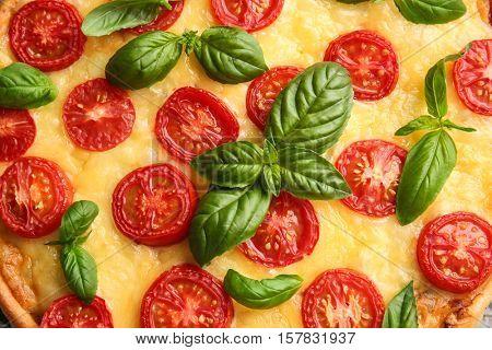 Pizza Margarita background