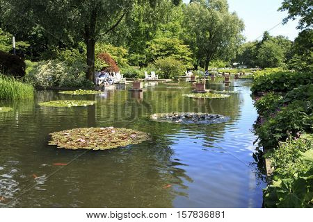 Travel in Germany, Hamburg, Botanical Garden