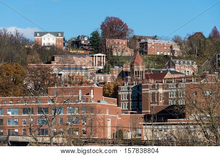 West Virginia University In Morgantown Wv
