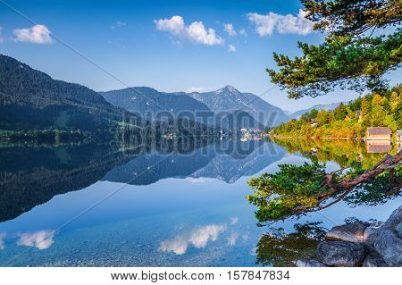 Specular Reflection At The Water Surface Of Blue Mountain