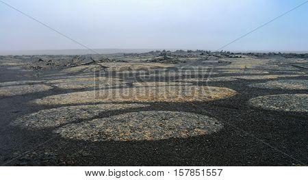 Rocky landscape Middle of Nowhere Sprengisandur Iceland