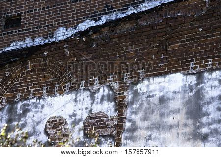 Grunge wall in Memphis, great for use as a background.