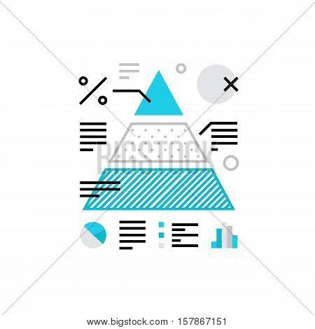 Data Analysis Monoflat Icon.