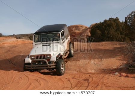 Arches Jeep