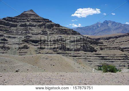 Landscape near Kargil in Ladakh, in India