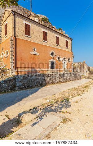 Inside Old Fortress, Corfu