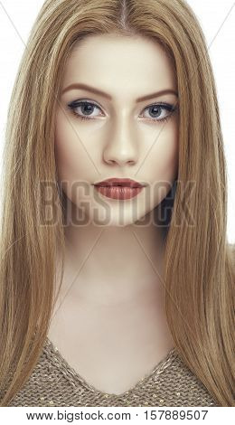 Alluring Woman Portrait