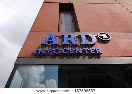 The main office of ARD television in berlin - Germany - 17.04.2012.