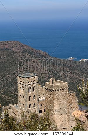 Benedictine monastery of Sant Pere de Rodes; Girona province; Catalonia; Spai