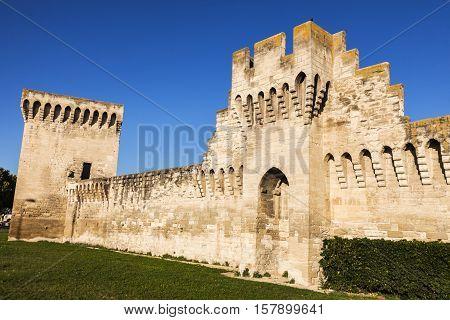 Avignon City Walls. Avignon Provence-Alpes-Cote d'Azur France.