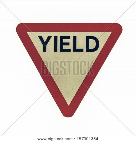 Vintage Looking Yield