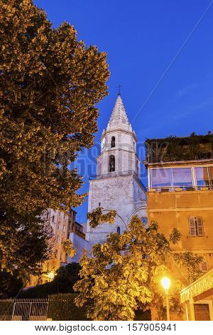 Notre-Dame-des-Accoules Church in Marseille. Marseille Provence-Alpes-Cote d'Azur France.