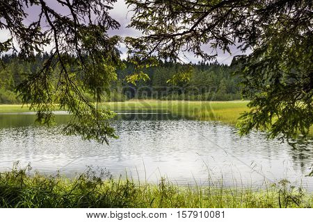 Crno Jezero - Black Lake On Pohorje, Slovenia
