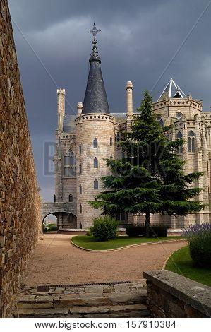 Palacio Gaudi Astorga Leon Castilla y LeonSpain