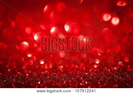 abstract red twinkled christmas background. studio shot