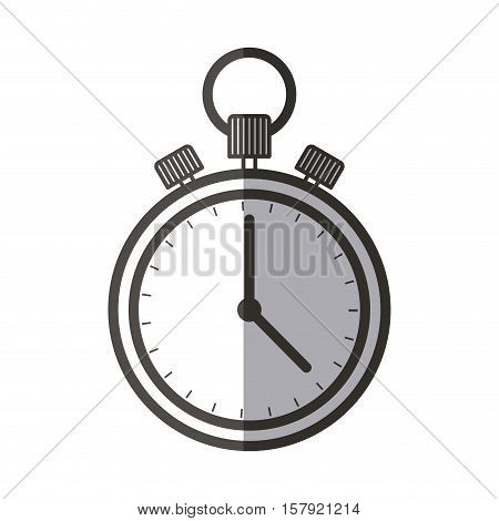 Chronometer icon. Healthy lifestyle fitness and sport theme. Isolated design. Vector illustration