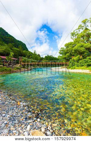 Kamikochi Kappa Bridge Azusa River Morning V