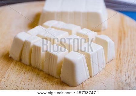 Block Of Soft Tofu